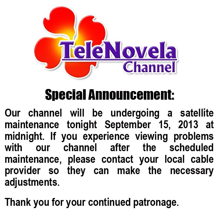 telenovela announcement