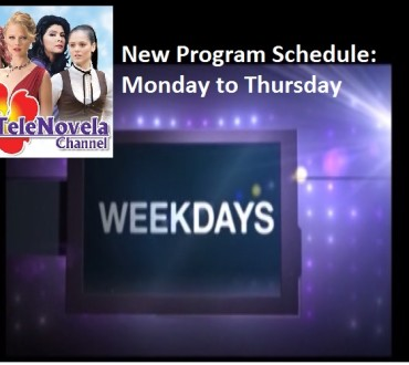 TeleNovela Channel Program Schedule