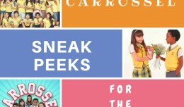 carrossel SNEAK PEEK