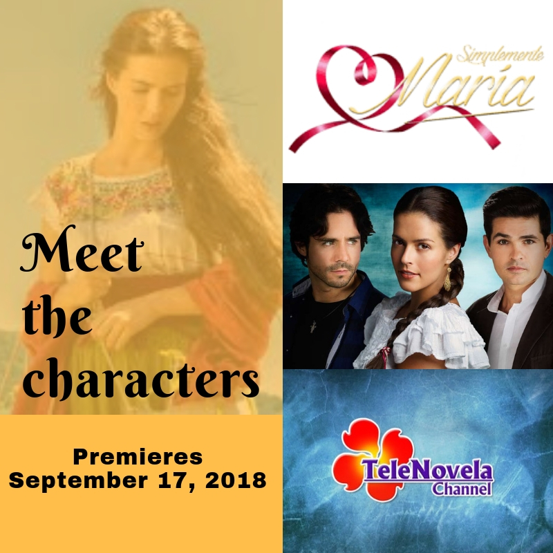 MEET THE CHARACTERS OF SIMPLY MARIA | TeleNovela Channel - Bringing